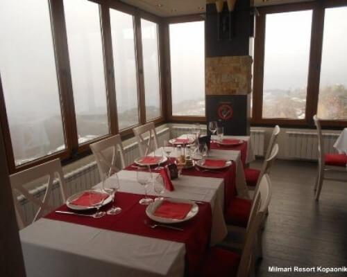 milmari resort restoran