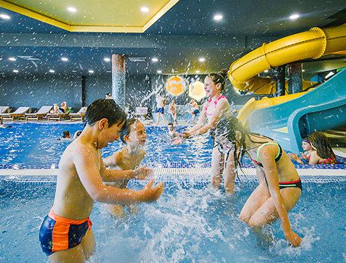 Spa aqua park