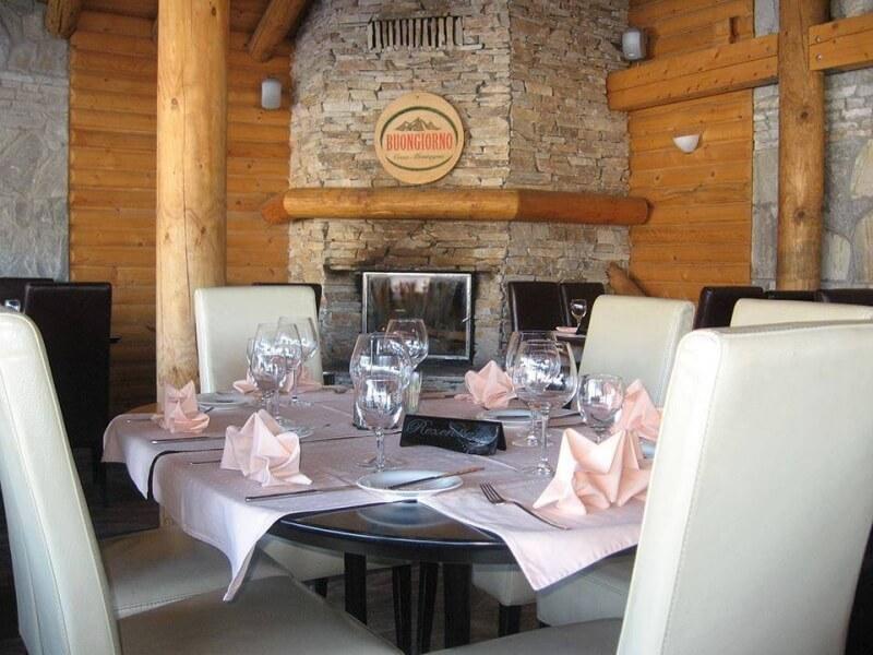 Restoran Buongiorno na Kopaoniku