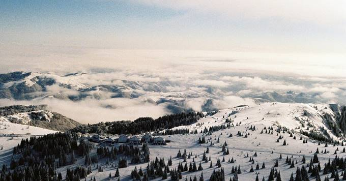 Kopaonik zimski pejzaž