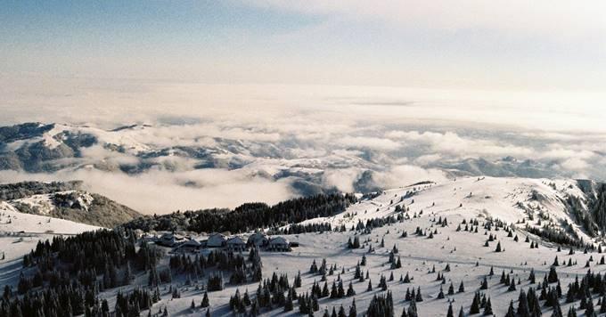 Kopaonik prekriven snegom