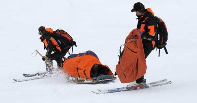 Spašavanje skijaša nakon povrede