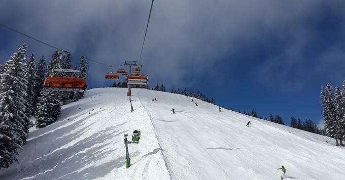 Skijalište i žičara na planini