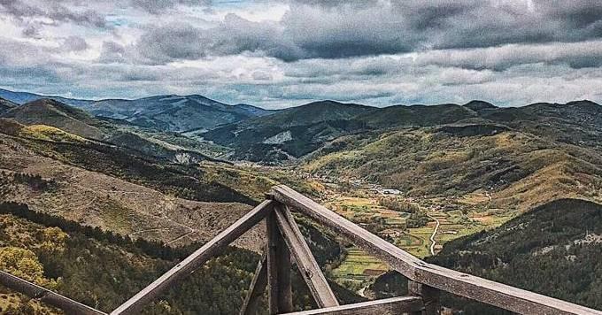 pogled na planine