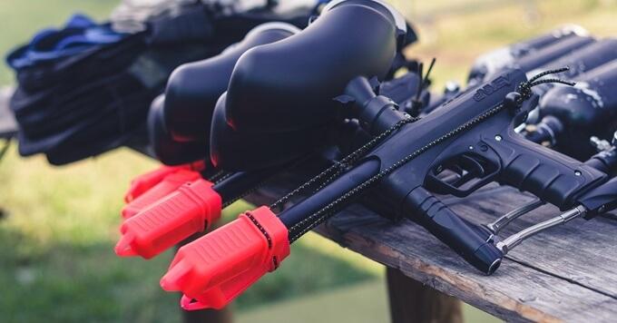 Puška za paintball i meci koji se koriste